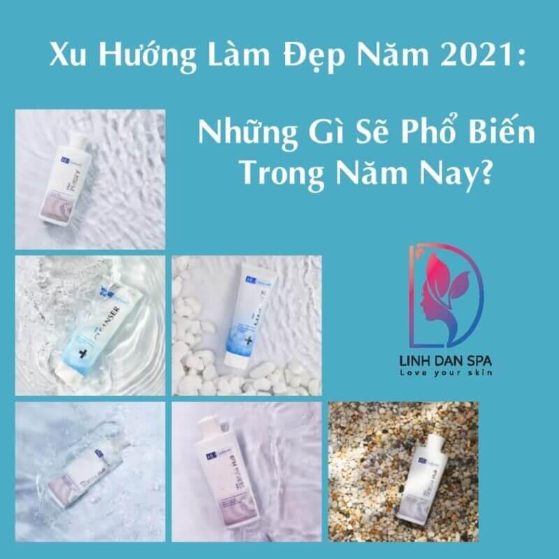 xu huong lam dep 2021