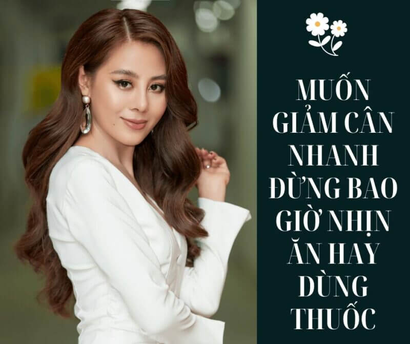 muon giam can nhanh dung uong thuoc